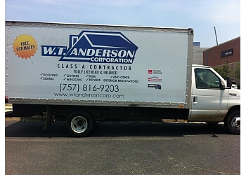 Norfolk roofing contractor WT Anderson Corporation