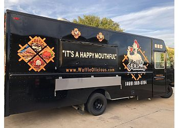 Plano food truck Waffle O'licious