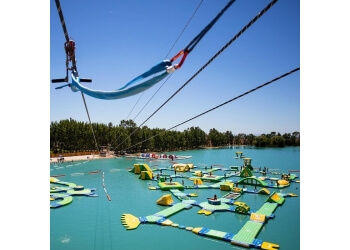 Elk Grove amusement park Wake Island Waterpark