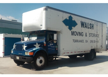 Torrance moving company Walsh Moving & Storage