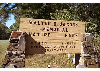 Shreveport hiking trail Walter B. Jacobs Memorial Nature Park Trail