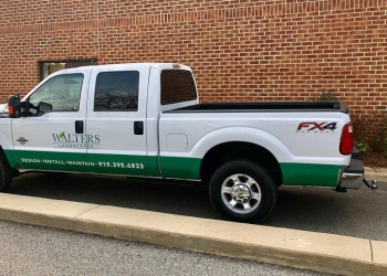 Raleigh landscaping company Walters Landscapes, LLC