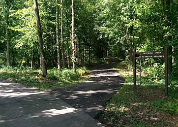 Buffalo hiking trail Walton Woods Park