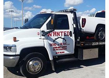 Cape Coral towing company WANTED DEAD OR ALIVE TOWING