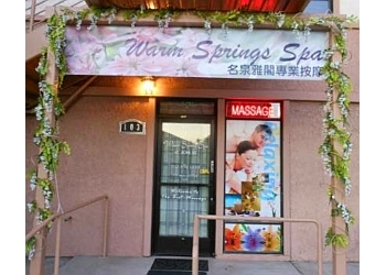 Fremont massage therapy Warm Springs Spa