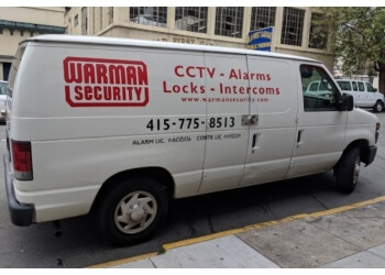 San Francisco security system Warman Security