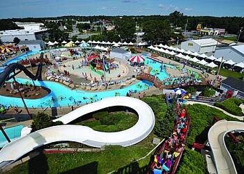 Boston amusement park Water Wizz