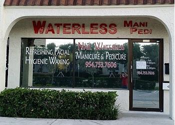 Coral Springs nail salon Waterless Mani Pedi