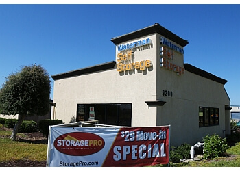 Elk Grove storage unit Waterman Self Storage