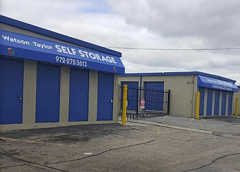 Garland storage unit Watson & Taylor Self Storage