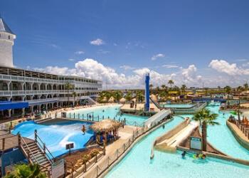 Corpus Christi amusement park Waves Resort Corpus Christi