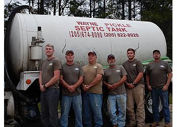 Birmingham septic tank service Wayne Pickle Septic Tank & Plumbing