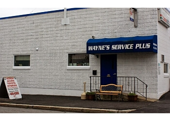 Providence car repair shop WAYNE'S SERVICE PLUS, INC.
