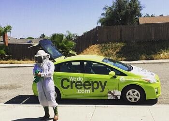 Escondido pest control company We Do Creepy