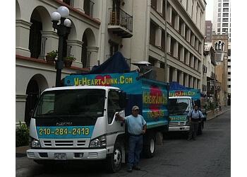 San Antonio junk removal We Heart Junk