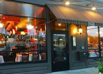 Buffalo french restaurant Webster's Bistro & Bar