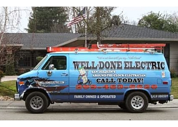 Stockton electrician Well-Done Electric
