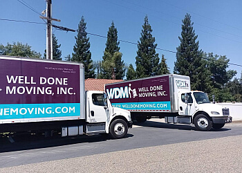Fresno moving company Well Done Moving, Inc.