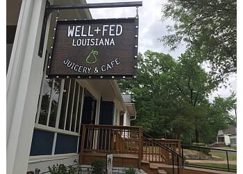 Shreveport vegetarian restaurant Well+Fed Louisiana