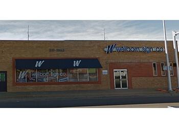 Amarillo sign company Wellborn Sign Co.