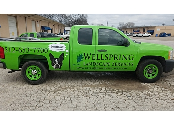 Austin lawn care service Wellspring Landscape Services