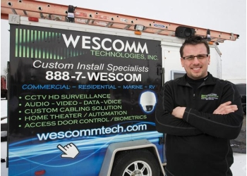 Detroit security system Wescomm Technologies Inc