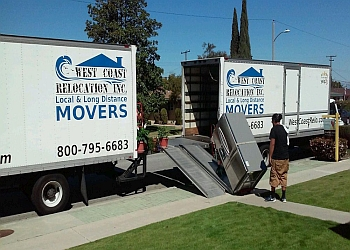 Anaheim moving company West Coast Relocation