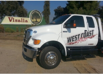 Visalia towing company West Coast Tow