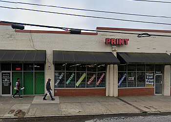 Atlanta printing service West End Print Shop
