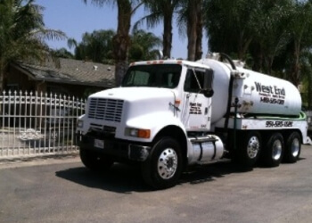 Corona septic tank service West-End Pumping Company