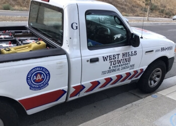 Simi Valley towing company West Hills Towing