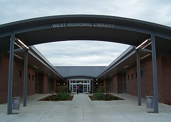 Cary landmark West Regional Library