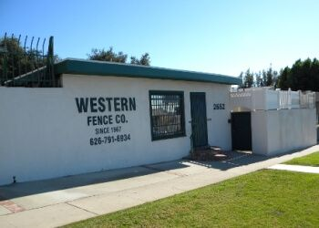 Pasadena fencing contractor Western Fence Co.