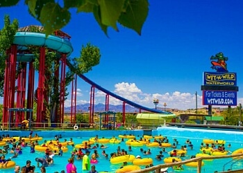 Wet N' Wild Waterworld is a 60 acre waterpark featuring over 25 rides and attractions and a canopy of mature shade trees. It is located at S. Desert in Anthony, Texas, a small town in between El Paso, Texas, and Las Cruces, New Mexico.