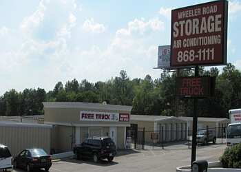 Augusta storage unit Wheeler Road Self Storage