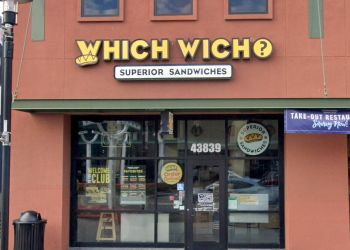 Fremont sandwich shop Which Wich Superior Sandwiches
