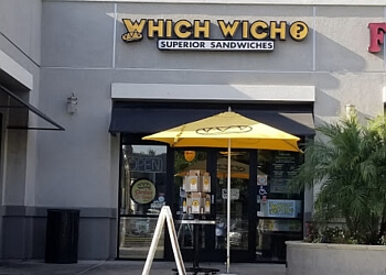 Fullerton sandwich shop Which Wich Superior Sandwiches