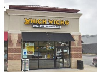Naperville sandwich shop Which Wich Superior Sandwiches