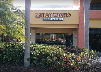 Port St Lucie sandwich shop Which Wich Superior Sandwiches
