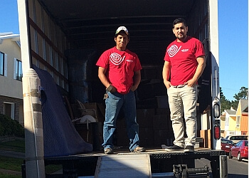 San Mateo moving company White Red Moving & Storage