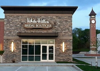 Cedar Rapids bridal shop White Willow Bridal Boutique