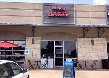 Austin bagel shop Wholy Bagel