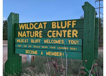Amarillo hiking trail Wildcat Bluff Nature Center
