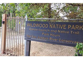 Fresno hiking trail Wildwood Native Park