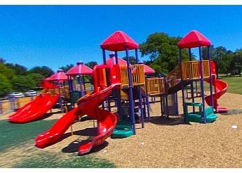 Oklahoma City public park Wiley Post Park