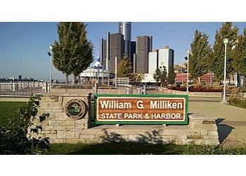 Detroit public park William G. Milliken State Park and Harbor