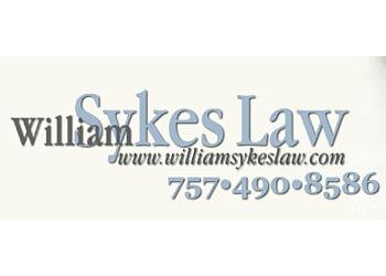 Virginia Beach patent attorney William G. Sykes