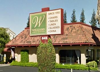 San Jose event rental company WILLIAMS PARTY RENTALS