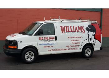 Warren hvac service Williams Refrigeration AC & Heating