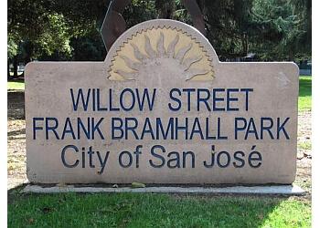 San Jose public park Willow Street Frank Bramhall Park